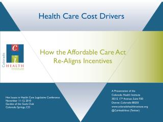 Health Care Cost Drivers