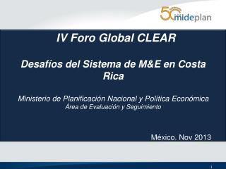 IV Foro Global CLEAR