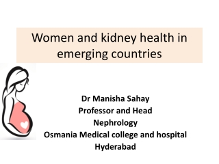 Women and kidney health in emerging countries