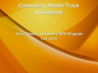 Post Graduate Program Planning Information