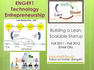 ENG491  Technology  Entrepreneurship