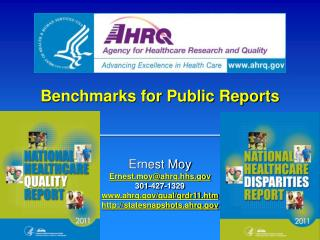 Benchmarks for Public Reports