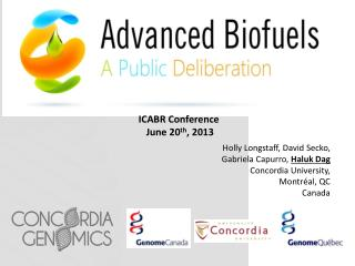 ICABR Conference June 20 th , 2013