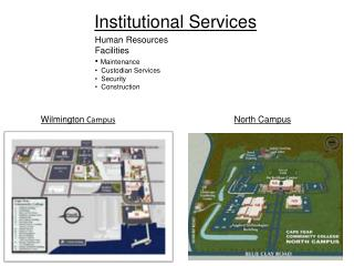 Institutional Services