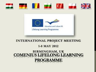 Comenius Lifelong  Learning P rogramme