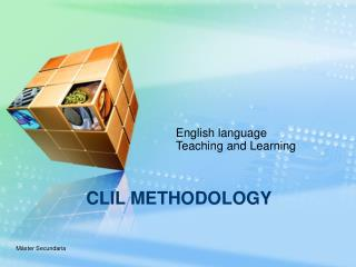 CLIL METHODOLOGY