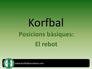 Korfbal: el rebot