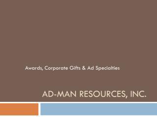Ad-Man Resources, Inc.