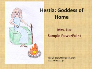Hestia: Goddess of Home