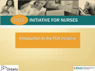 Initiative for nurses