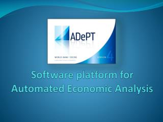 Software platform for Automated Economic Analysis