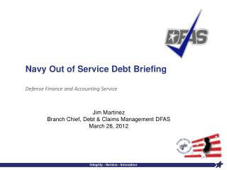Navy Out of Service Debt Briefing