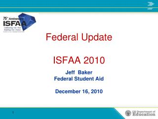 Federal Update ISFAA 2010