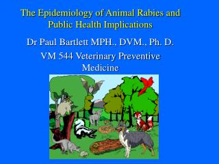 The Epidemiology of Animal Rabies and Public Health Implications