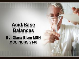 Acid/Base Balances