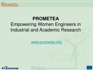 PROMETEA Empowering Women Engineers in Industrial and Academic Research