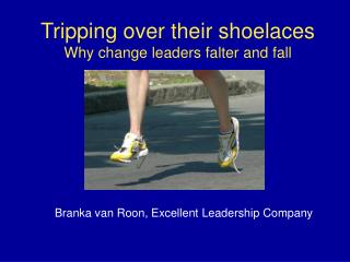 Tripping over their shoelaces Why change leaders falter and fall
