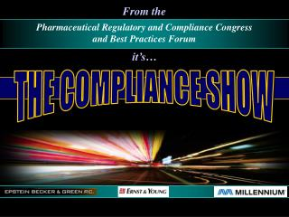 THE COMPLIANCE SHOW