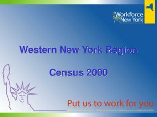 Western New York Region Census 2000