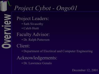 Project Cybot - Ongo01