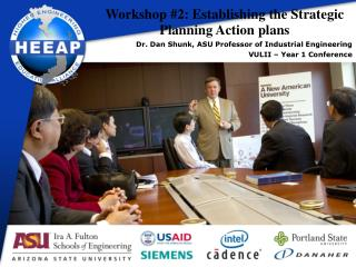 Workshop # 2:  Establishing  the  Strategic Planning  Action plans