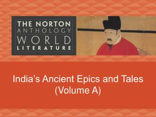 India's Ancient Epics and Tales (Volume A)