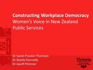 The role of women in workplace democracy