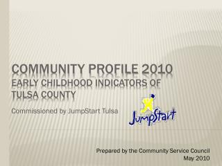 Community Profile  2010 Early Childhood Indicators of  tulsa County