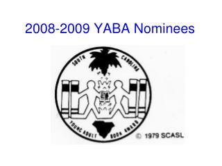2008-2009 YABA Nominees