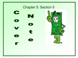 cover note