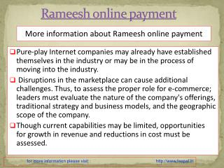 Ramesh launches websites of rameesh online payment