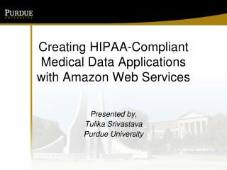 Creating HIPAA-Compliant Medical Data Applications with Amazon Web Services