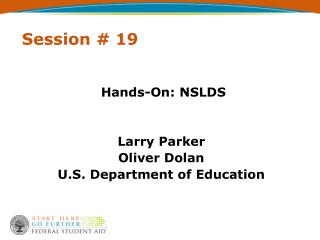 Session # 19