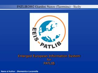 Enlarged European Information System for  PATLIB