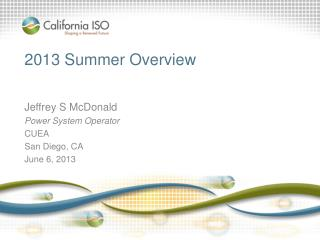 2013 Summer  Overview