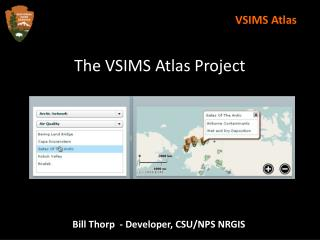 The VSIMS Atlas Project