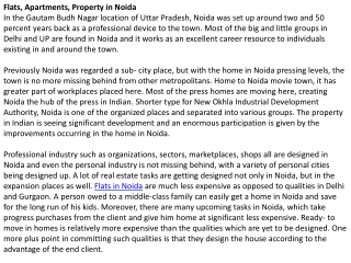 Flats-Apartments-Property-in-Noida