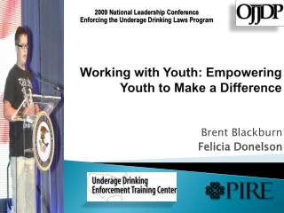 Working with Youth: Empowering Youth to Make a Difference