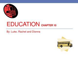 Education  chapter 10