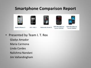 Smartphone Comparison Report