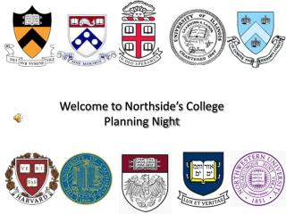 Welcome to  Northside's  College Planning Night
