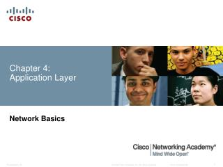 Chapter  4: Application Layer
