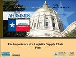 The Importance of a Logistics Supply Chain Plan