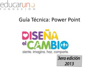 Guía Técnica: Power Point