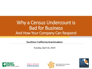 Why a Census Undercount is Bad for Business And How Your Company Can Respond