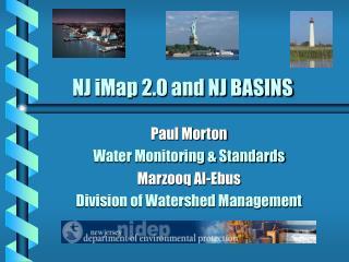 NJ iMap 2.0 and NJ BASINS