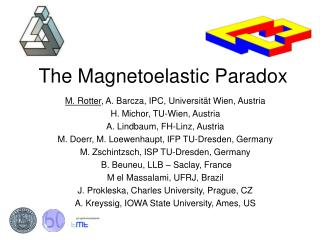 The Magnetoelastic Paradox