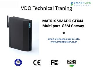 MATRIX SIMADO GFX44  Multi port   GSM  Gatway