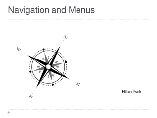 What is navigation