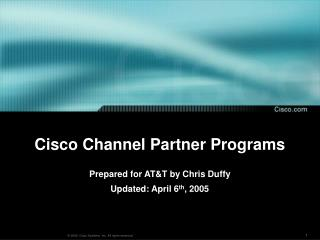 Cisco Channel Partner Programs